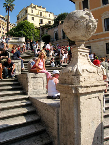 Rome: The Spanish Steps