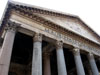 Rome: The facade of the Pantheon