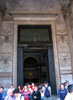 Rome: The bronze doors of the Pantheon