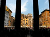 Rome: View of the square in front of the Pantheon