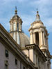 Rome: The church of Sant'Agnese in Agone in the Piazza Navona