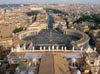 Vatican City: St. Peter's Square seen from above