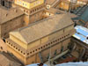 Vatican City: The Sistine Chapel seen from above; the exterior is very plain