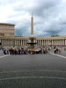 Vatican City: The obelisk in the middle of St. Peter's Square