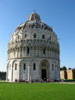 Pisa: The Baptistery of St. John