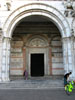 Lucca: The front door of the Duomo di San Martino