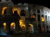 Rome: The Colosseum at night