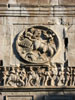 Rome: A medallion and frieze on one side of the Arch of Constantine