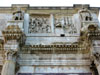 Rome: A view of the Arch of Constantine from below