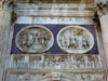 Rome: Two of the medallions on the Arch of Constantine