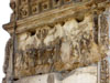 Rome: A frieze on the inside of the Arch of Titus depicting the pillaging of Jerusalem