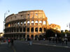 Rome: The Colosseum just before sunset